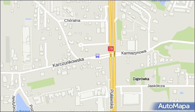 Przystanek Karczunkowska 04. ZTM Warszawa - Warszawa (id 302204) na mapie Targeo