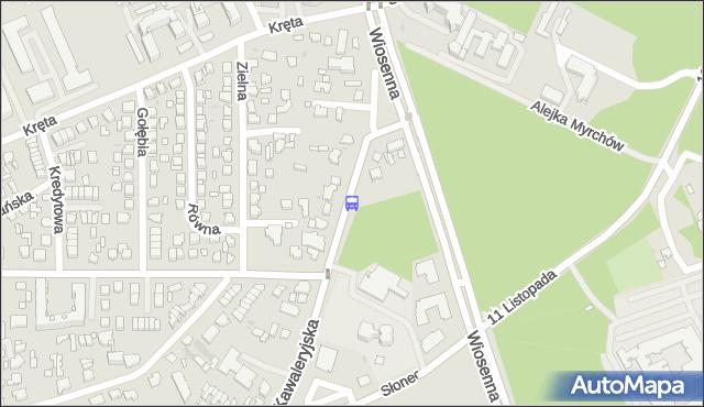 Przystanek Kawaleryjska/Uniwersytet Muzyczny. BKM - Białystok (id 149) na mapie Targeo