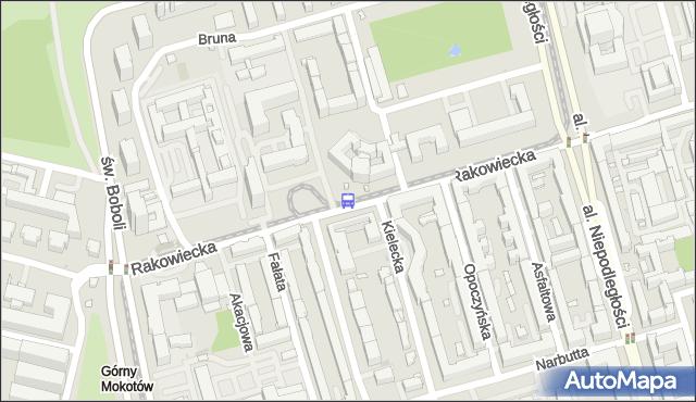 Przystanek Kielecka 01. ZTM Warszawa - Warszawa (id 311801) na mapie Targeo