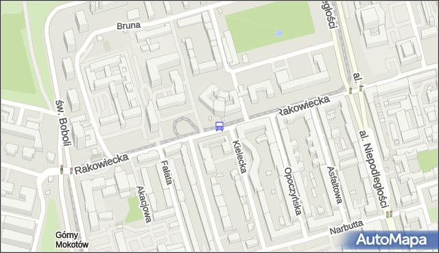 Przystanek Kielecka 02. ZTM Warszawa - Warszawa (id 311802) na mapie Targeo