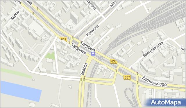 Przystanek Kijowska 03. ZTM Warszawa - Warszawa (id 100103) na mapie Targeo