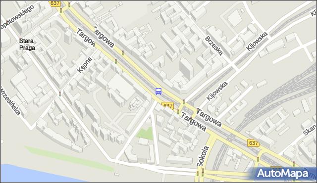 Przystanek Kijowska 04. ZTM Warszawa - Warszawa (id 100104) na mapie Targeo