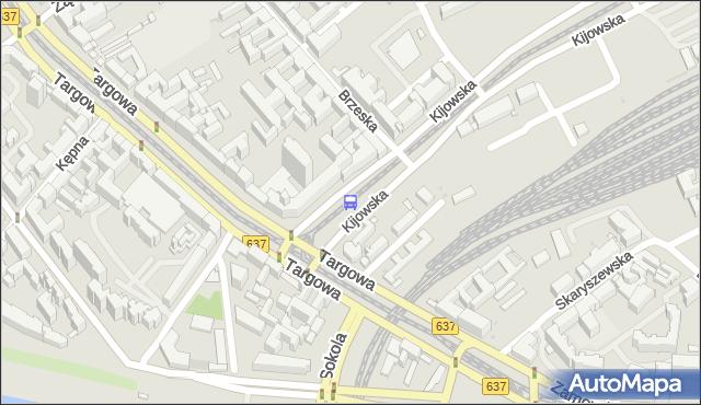 Przystanek Kijowska 06. ZTM Warszawa - Warszawa (id 100106) na mapie Targeo