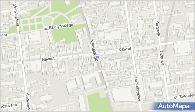 Przystanek Kilińskiego - Nawrot. MPKLodz - Łódź (id 286) na mapie Targeo
