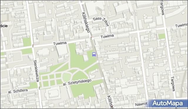 Przystanek Kilińskiego - Tuwima. MPKLodz - Łódź (id 299) na mapie Targeo