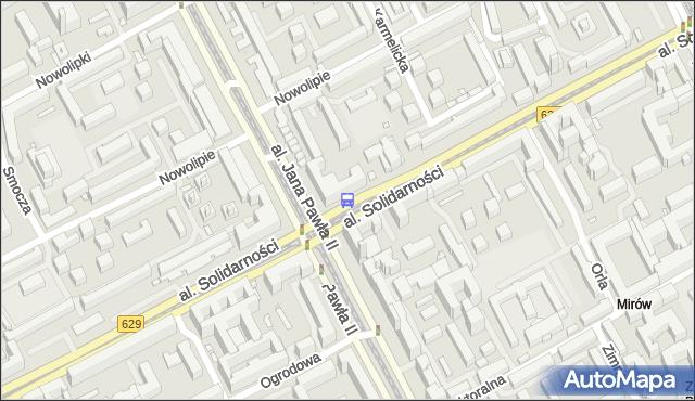 Przystanek Kino Femina 02. ZTM Warszawa - Warszawa (id 708502) na mapie Targeo