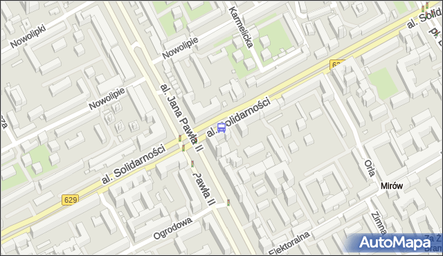 Przystanek Kino Femina 03. ZTM Warszawa - Warszawa (id 708503) na mapie Targeo