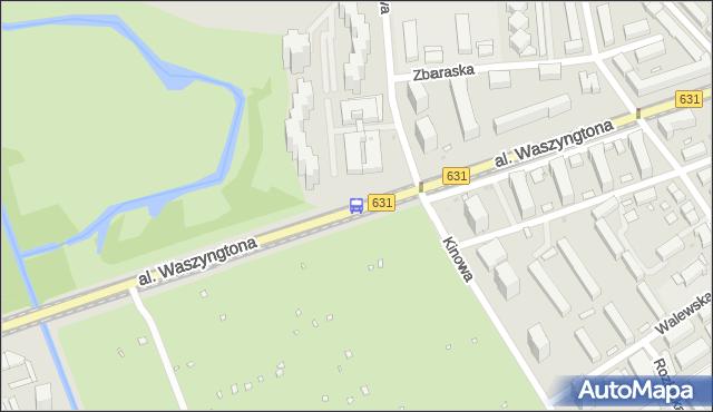 Przystanek Kinowa 01. ZTM Warszawa - Warszawa (id 213301) na mapie Targeo