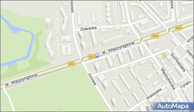 Przystanek Kinowa 02. ZTM Warszawa - Warszawa (id 213302) na mapie Targeo