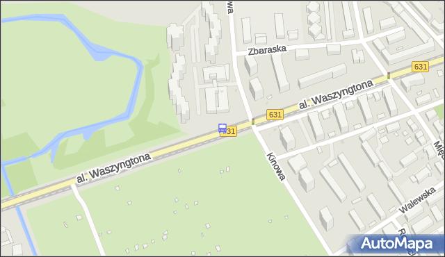Przystanek Kinowa 03. ZTM Warszawa - Warszawa (id 213303) na mapie Targeo