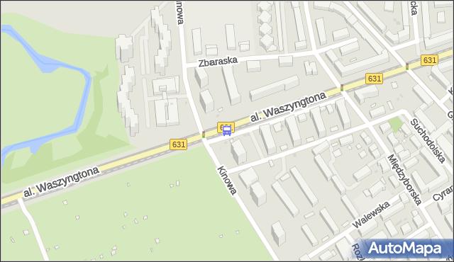 Przystanek Kinowa 04. ZTM Warszawa - Warszawa (id 213304) na mapie Targeo