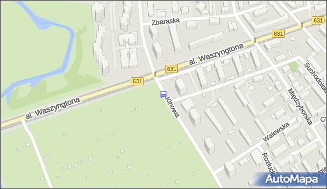 Przystanek Kinowa 06. ZTM Warszawa - Warszawa (id 213306) na mapie Targeo