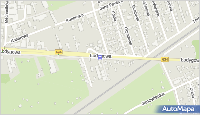 Przystanek Klamrowa 02. ZTM Warszawa - Warszawa (id 106502) na mapie Targeo