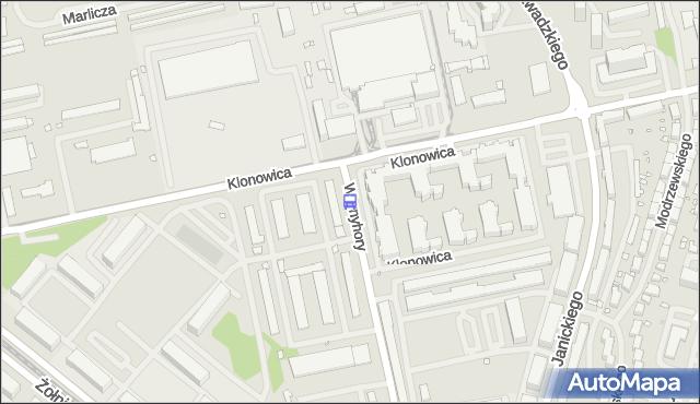 Przystanek Klonowica Zajezdnia 22. ZDiTM Szczecin - Szczecin (id 32622) na mapie Targeo