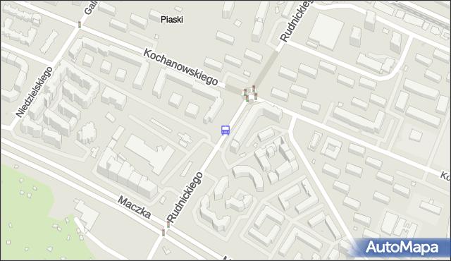 Przystanek Kochanowskiego 01. ZTM Warszawa - Warszawa (id 613101) na mapie Targeo