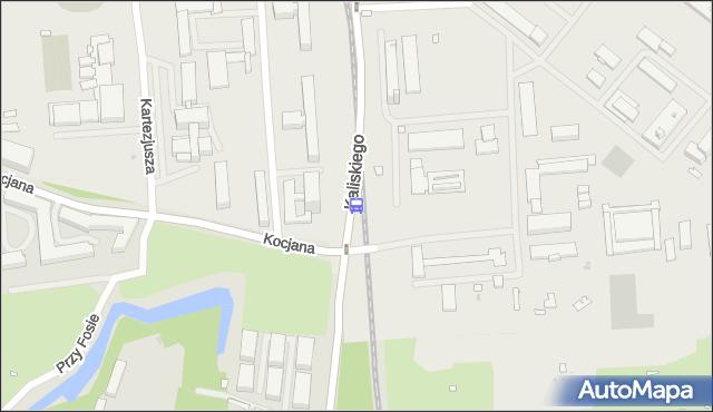 Przystanek Kocjana 02. ZTM Warszawa - Warszawa (id 516302) na mapie Targeo
