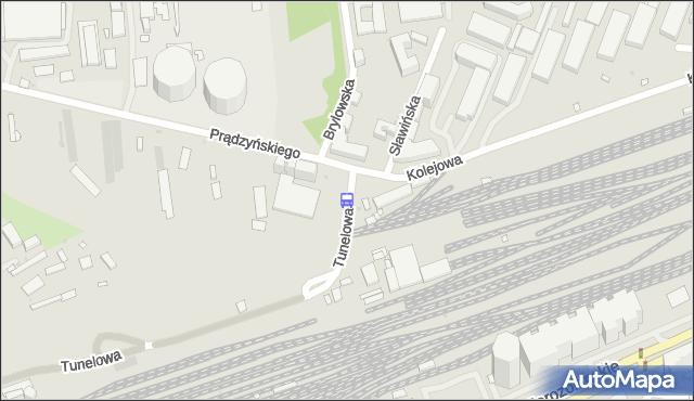 Przystanek Kolejowa 01. ZTM Warszawa - Warszawa (id 512001) na mapie Targeo