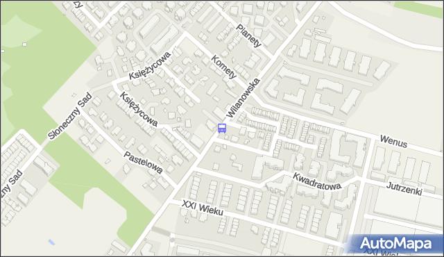 Przystanek Komety 01. ZTM Warszawa - Warszawa (id 334601) na mapie Targeo
