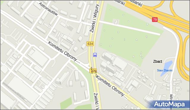 Przystanek Komitetu Obrony Robotników 02. ZTM Warszawa - Warszawa (id 403802) na mapie Targeo