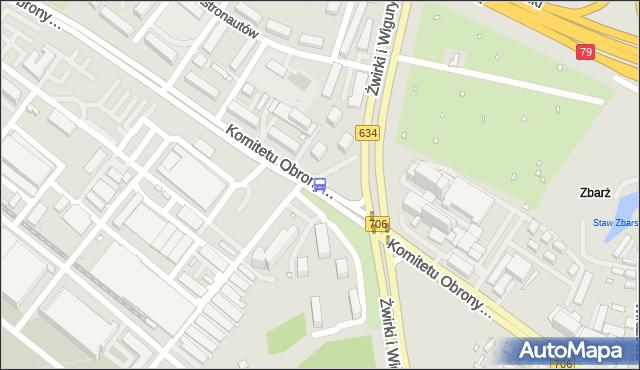 Przystanek Komitetu Obrony Robotników 04. ZTM Warszawa - Warszawa (id 403804) na mapie Targeo