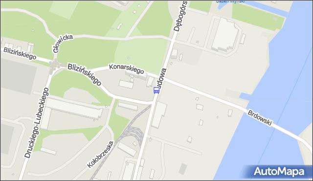 Przystanek Konarskiego 11. ZDiTM Szczecin - Szczecin (id 16111) na mapie Targeo