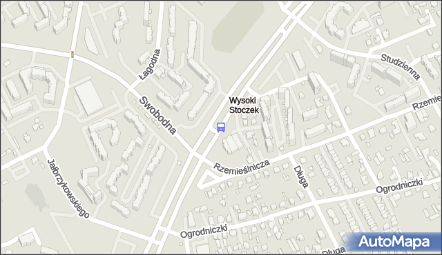 Przystanek Konst.3 Maja/Rzemieślnicza. BKM - Białystok (id 161) na mapie Targeo