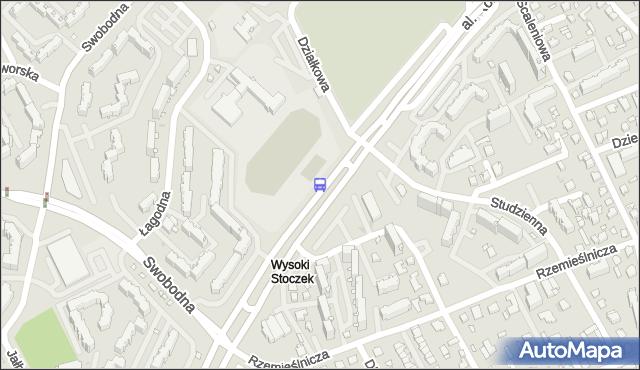 Przystanek Konst.3 Maja/Wysoki Stoczek. BKM - Białystok (id 164) na mapie Targeo