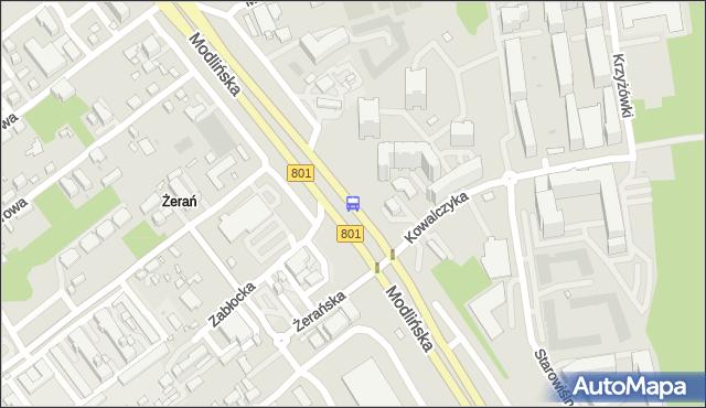 Przystanek Konwaliowa 02. ZTM Warszawa - Warszawa (id 101602) na mapie Targeo