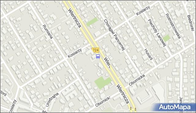 Przystanek Kosiarzy 01. ZTM Warszawa - Warszawa (id 306801) na mapie Targeo