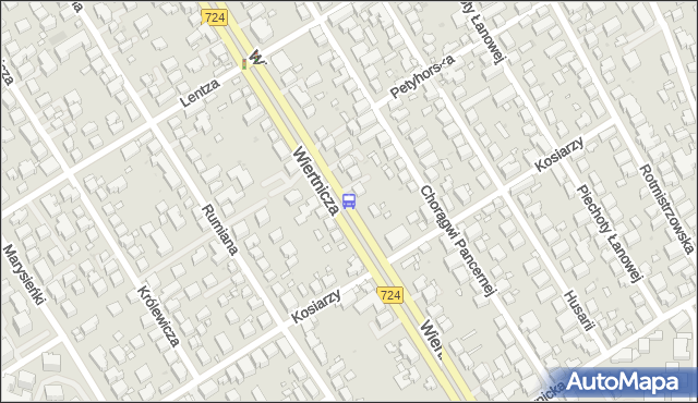 Przystanek Kosiarzy 02. ZTM Warszawa - Warszawa (id 306802) na mapie Targeo