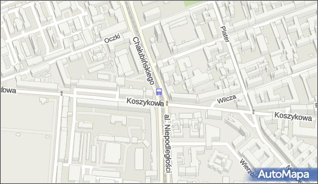 Przystanek Koszykowa 03. ZTM Warszawa - Warszawa (id 708903) na mapie Targeo