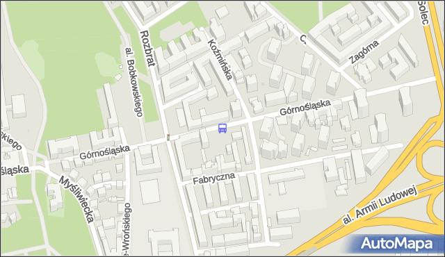 Przystanek Koźmińska 01. ZTM Warszawa - Warszawa (id 709201) na mapie Targeo