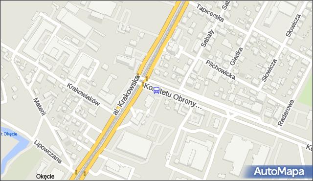 Przystanek Krakowiaków 05. ZTM Warszawa - Warszawa (id 401205) na mapie Targeo
