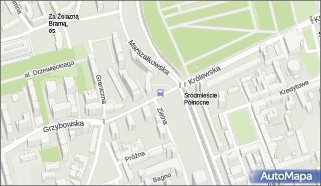 Przystanek Królewska 04. ZTM Warszawa - Warszawa (id 701504) na mapie Targeo