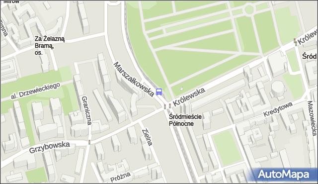 Przystanek Królewska 05. ZTM Warszawa - Warszawa (id 701505) na mapie Targeo