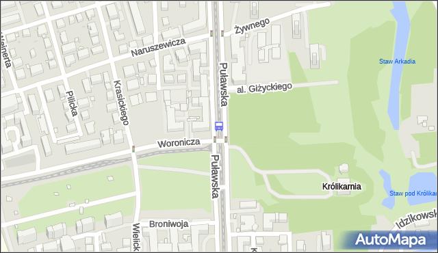 Przystanek Królikarnia 03. ZTM Warszawa - Warszawa (id 300703) na mapie Targeo