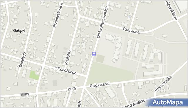 Przystanek Królowej Bony 02. ZTM Warszawa - Warszawa (id 422602) na mapie Targeo