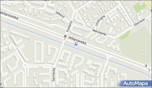 Przystanek Królowej Marysieńki 01. ZTM Warszawa - Warszawa (id 304301) na mapie Targeo