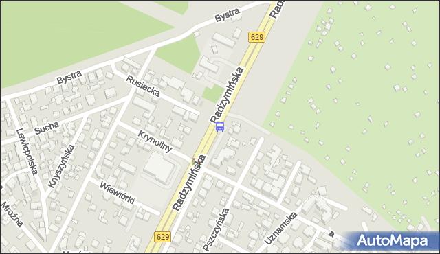 Przystanek Krynoliny 02. ZTM Warszawa - Warszawa (id 127902) na mapie Targeo