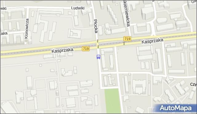 Przystanek Krzyżanowskiego 01. ZTM Warszawa - Warszawa (id 511801) na mapie Targeo
