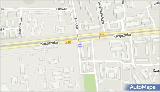 Przystanek Krzyżanowskiego 02. ZTM Warszawa - Warszawa (id 511802) na mapie Targeo