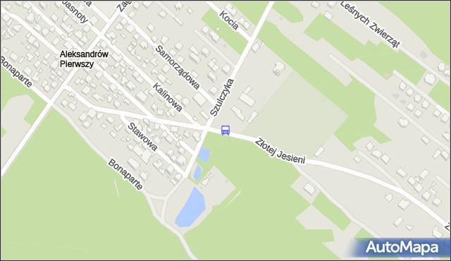 Przystanek ks.Szulczyka 01. ZTM Warszawa - Warszawa (id 222101) na mapie Targeo