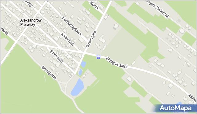 Przystanek ks.Szulczyka 02. ZTM Warszawa - Warszawa (id 222102) na mapie Targeo