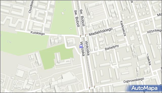 Przystanek Kulskiego 01. ZTM Warszawa - Warszawa (id 323701) na mapie Targeo