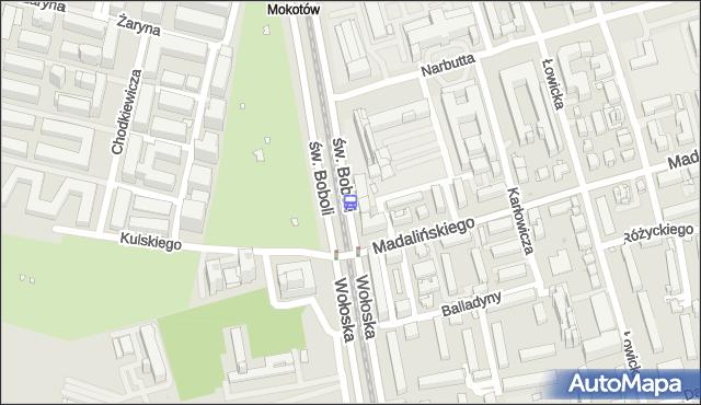 Przystanek Kulskiego 02. ZTM Warszawa - Warszawa (id 323702) na mapie Targeo