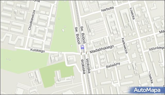 Przystanek Kulskiego 03. ZTM Warszawa - Warszawa (id 323703) na mapie Targeo