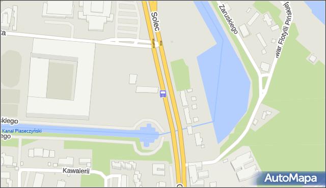 Przystanek Legia-Stadion 01. ZTM Warszawa - Warszawa (id 707501) na mapie Targeo