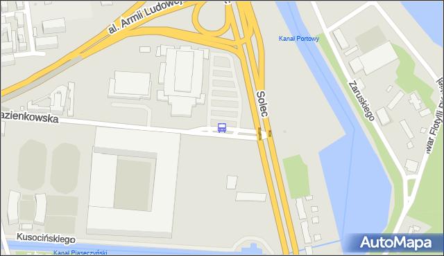 Przystanek Legia-Stadion 02. ZTM Warszawa - Warszawa (id 707502) na mapie Targeo