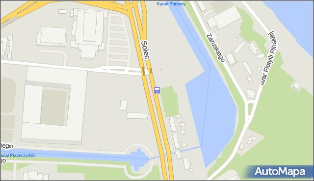 Przystanek Legia-Stadion 03. ZTM Warszawa - Warszawa (id 707503) na mapie Targeo