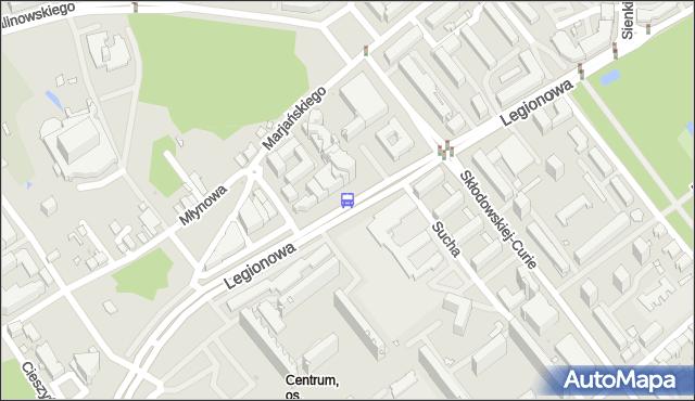Przystanek LEGIONOWA/PIĘKNA. BKM - Białystok (id 183) na mapie Targeo